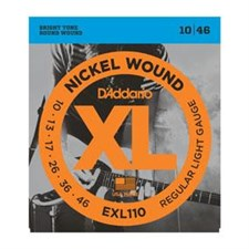 EXL110 Nickel Wound, Regular Light, 10-46
