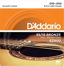 D'Addario EZ900 Acoustic Strings