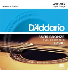 D'Addario EZ910 Acoustic Guitar Strings