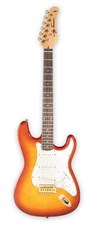 Jay Turser JT-300QMT AMB Electric Guitar